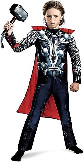 Disfraz de Thor para niños, musculación, disfraz, carnaval ...