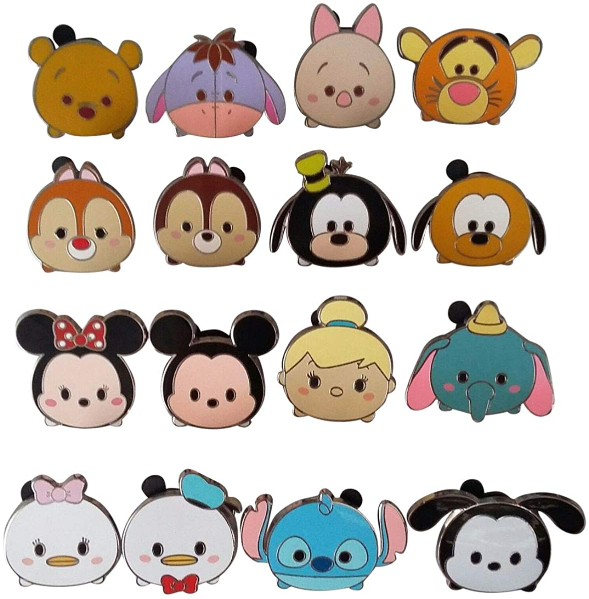 Disney Winnie the Pooh Tsum Tsum Tigger Pin