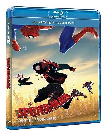 Spider Man Un Nuevo Universo Blu Ray 3d Shameik Moore Jake