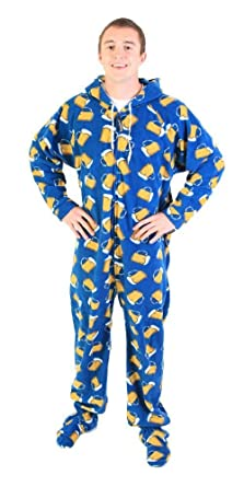 Forever Lazy Footed Adult Onesie - The Hangovers - XXS