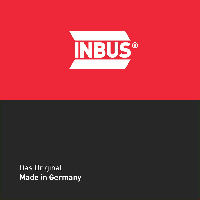 llaves de hex/ágono interior m/étrico INBUS/® 70044 juego de llaves Inbus//conjunto 2K mango en T 2mm llaves Allen acodadas Made in Germany