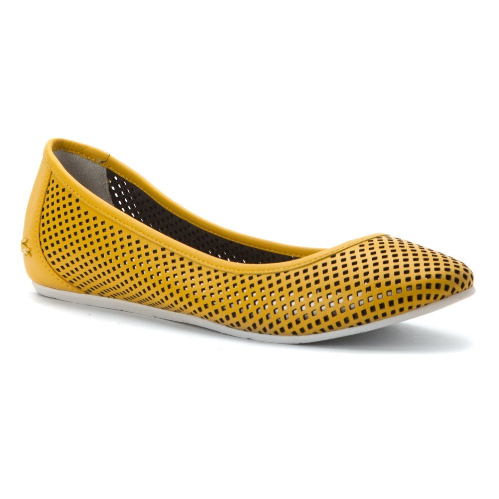 Lacoste Women's Cessole 216 1 Ballet Flat B01FNMNB4Q 9 B(M) US|Yellow