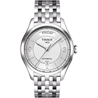 Tissot Men's T0384301103700 T-one Analog Display Swiss Automatic Silver Watch