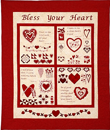 Lone Star Pattern Works Bless Your Heart Quilt Pattern