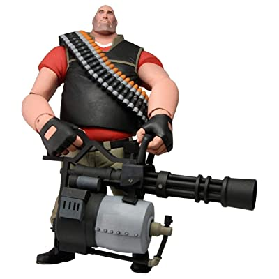 "NECA Team Fortress 2 The Heavy Action Figure, 7"": Toys & Games"