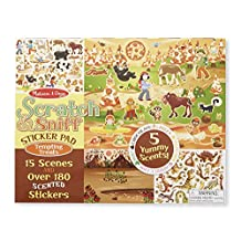 Melissa & Doug Scratch & Sniff Tempting Treats Sticker Pad
