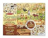 Melissa & Doug Scratch & Sniff Tempting Treats Sticker Pad