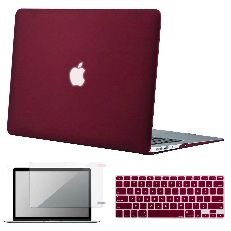 promo code bb2f6 0b4e4 MacBook Air 13 Inch Case, Lacdo Laptop Hard Case Shell Cover Screen  Protector Keyboard Skin Compatible MacBook Air 13.3