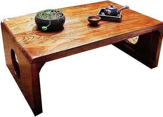 GYY Mesa De Café Tatami Pequeña Mesa De Centro Sencillo De Bajo ...