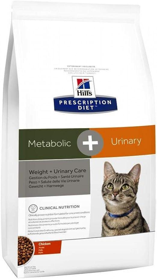Hill`s Alimento Dietético para Gatos Metabolic Plus Urinary - 4 kg: Amazon.es: Productos para mascotas