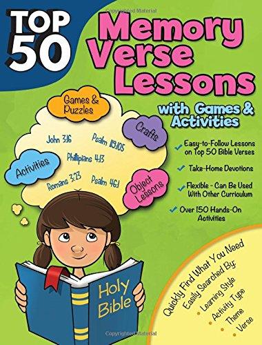 - Top 50 Memory Verses with Lessons with Games and Activities