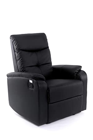 Imperial Confort Sillón Relax, Piel_sintética, Individual