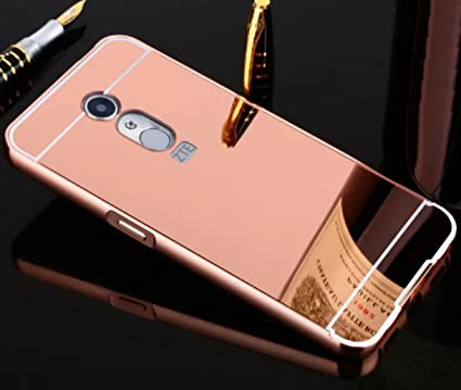brand new d8dd3 2dc41 Amazon.com: ZTE Blade V7 Max Mirror Case, Shiny Awesome Make-up ...