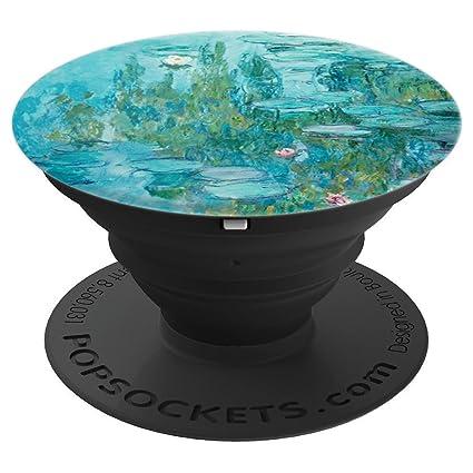 Amazon.com: Lily, diseño de lirios de agua de Claude Monet ...