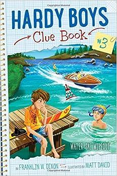 HARDYCLUE #3: Water-Ski Wipeout (Hardy Boys Clue Book)
