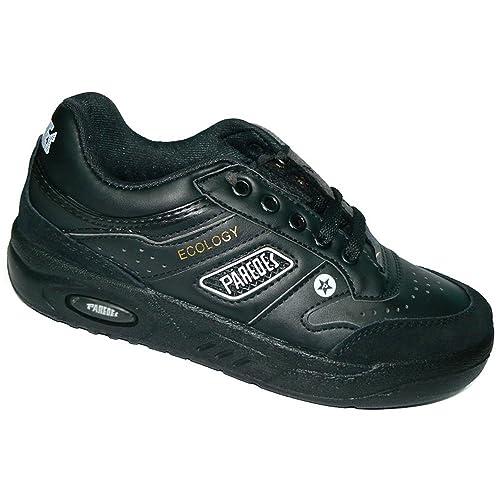 Paredes 2416 Deportivo Sneaker Cordones y Cámara con Piso Grueso para  Hombre Negro Talla 40  Amazon.es  Zapatos y complementos 397686717889