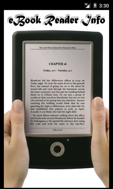 eBook Reader Info: Amazon.es: Appstore para Android