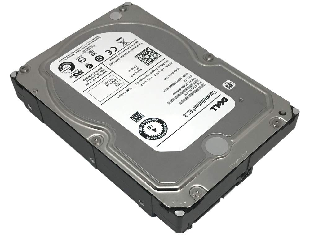 DELL/Seagate Constellation ES ST4000NM0033 4TB 7200RPM 128MB Cache SATA 6.0Gb/s 3.5'' Internal Enterprise Hard Drive - 5 Year Warranty
