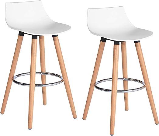 Furniture R France Lot De 2 Tabouret De Bar Siege En Plastique Pp
