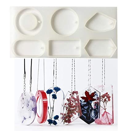 Make Sweater Necklace Pendant Epoxy Resin Silicone Mold,Crafting  Clay,Jewelry Earrings Making,DIY Mobile Phone Decoration  Tools,Semi-Transparent