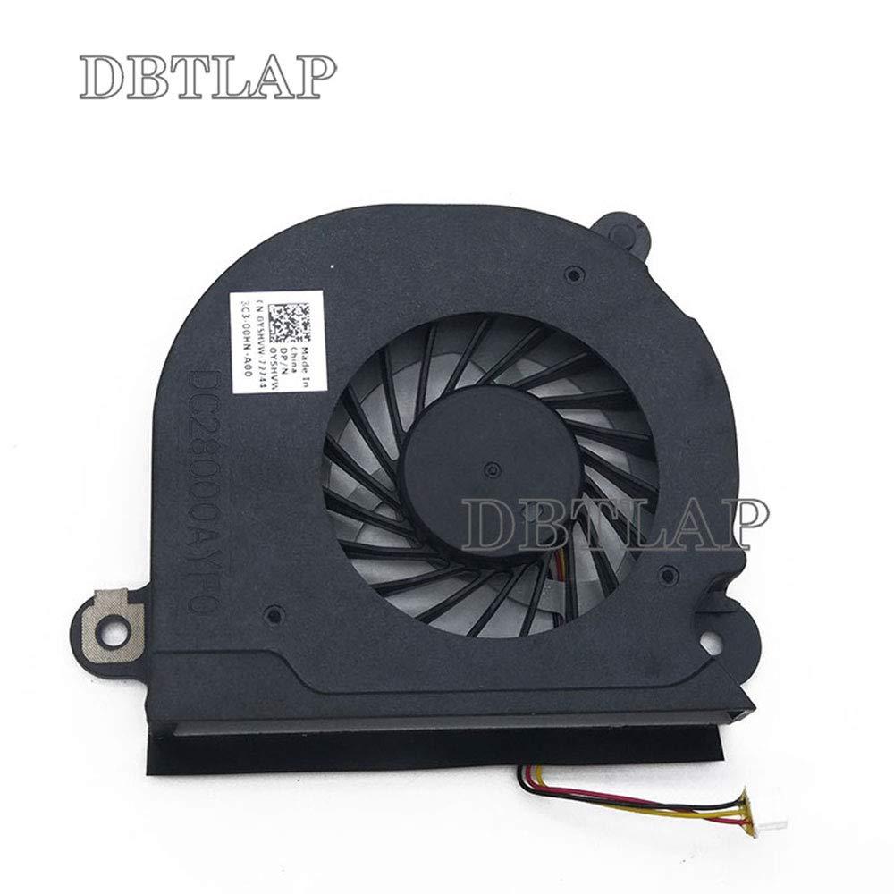 DBTLAP Laptop CPU L/üfter Kompatibel f/ür Dell Inspiron 15R 5520 5525 7520 VOSTRO 3560 V3560 CPU L/üfter with Shell Y5HVW
