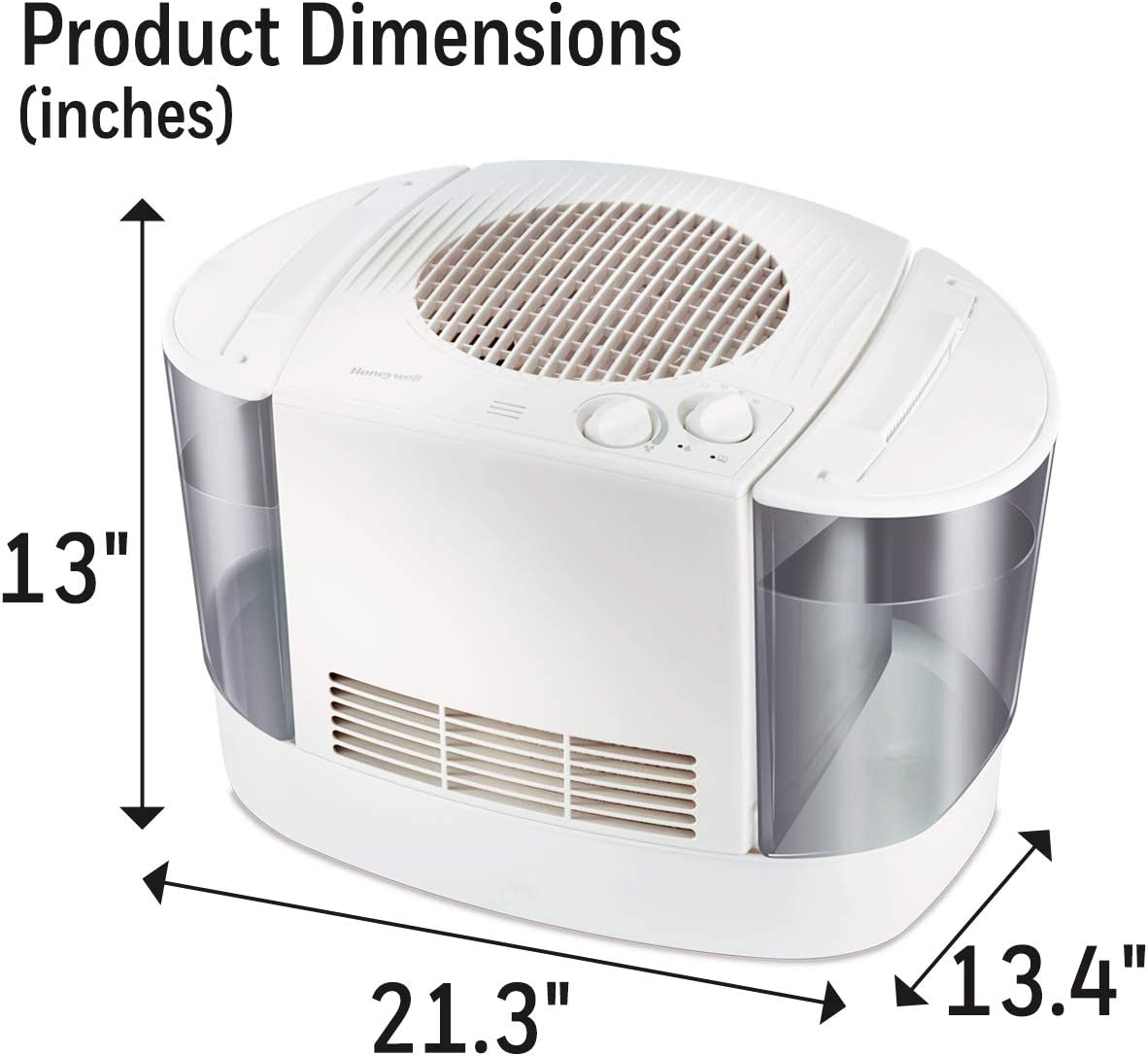 Honeywell HEV685W Top Fill Console Humidifier, White: Amazon