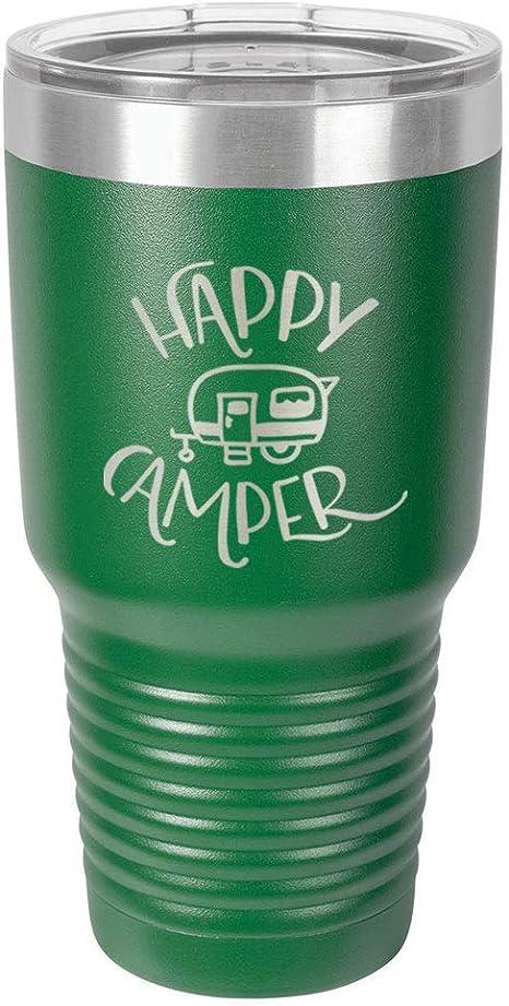 Happy Camper 30oz tumbler
