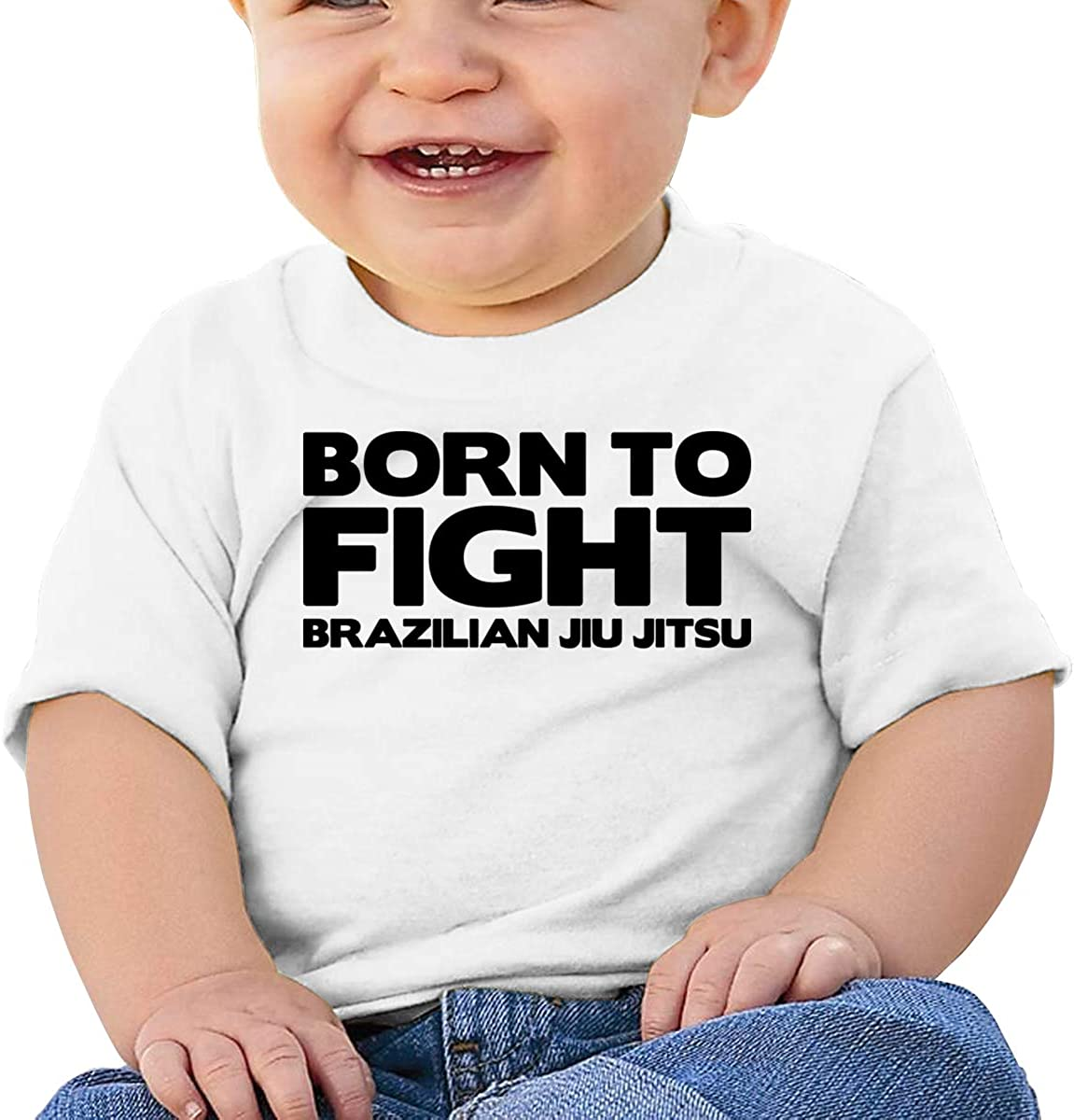 Qiop Nee Jiu Jitsu Short-Sleeves Tshirt Baby Girl