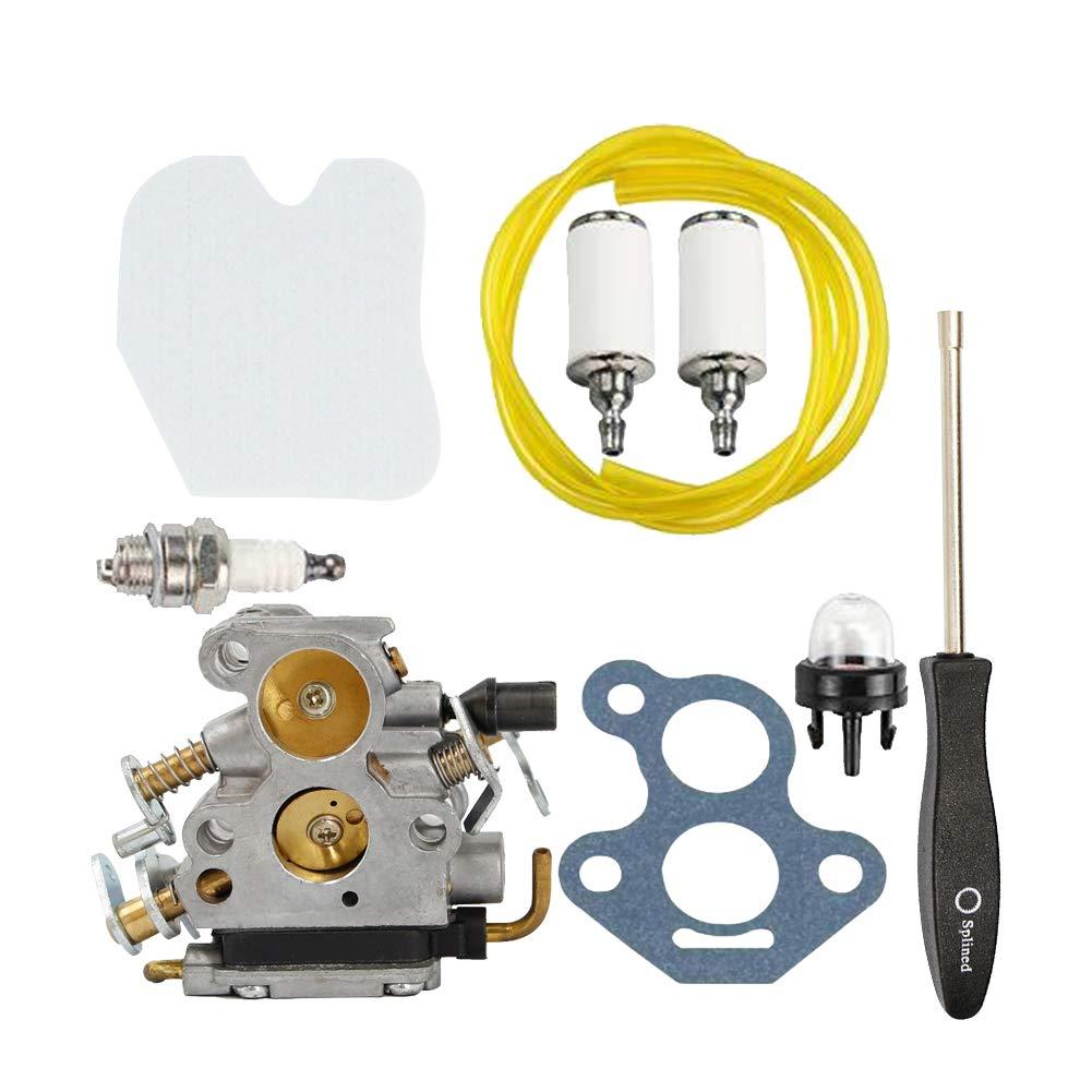 Mioloe Carburador de Motosierra 574719402 545072601 para Husqvarna 235 235E 236 240 240E