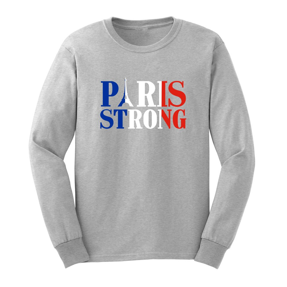 Loo Show S France Flag Paris Storng Adult T Shirts Casual Tee