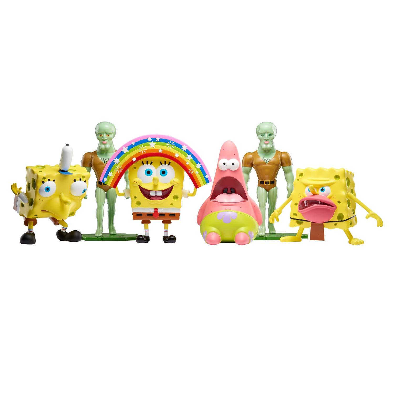 Amazon com spongebob squarepants masterpiece memes 8 collectible vinyl figure mocking spongebob toys games