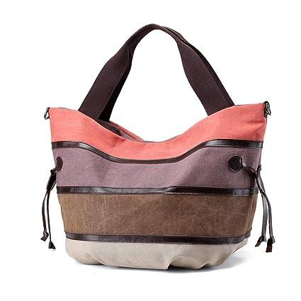 6dae7936492 HEMFV Women's Canvas Handbags Shoulder Bag Top-Handle Tote Casual ...