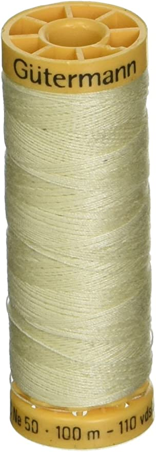 Natural Cotton Thread 273yd-Ivory