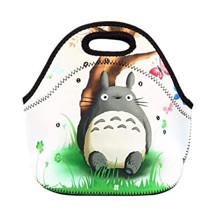 6fc4c5f5ba7f Amazon.com: Totoro Thermal Lunch Bag Box Tote Women Kids Baby Casual ...