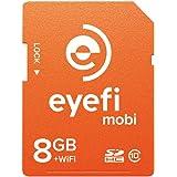 ワイヤレスSDHCカード Eyefi Mobi (アイファイ モビ) 8GB Class10 WiFi内蔵 (最新パッケージ版)
