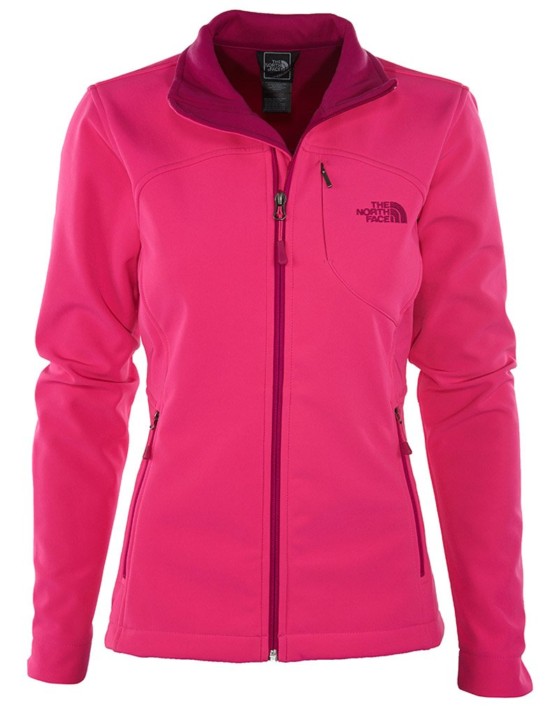 The North Face Women's Apex Bionic Jacket(X-Large, GLO PINK)