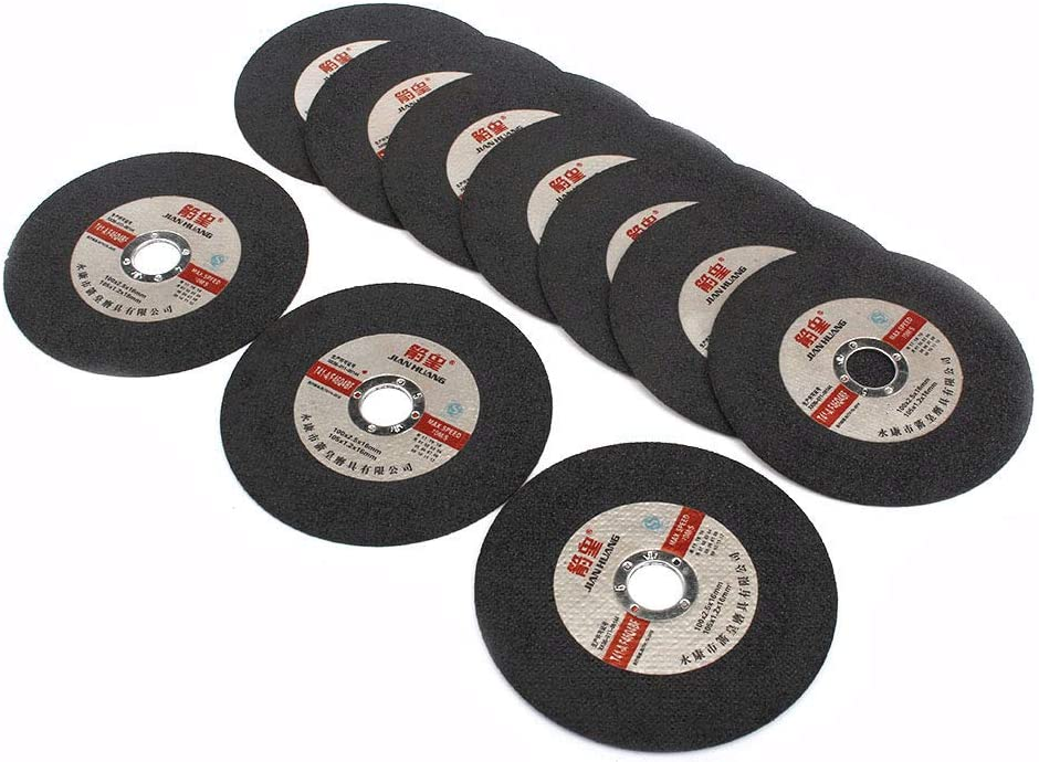 5Pcs 4Inch Resin Cutting Wheel Grinding Disc Angle Grinder For Metal Cutter Tool