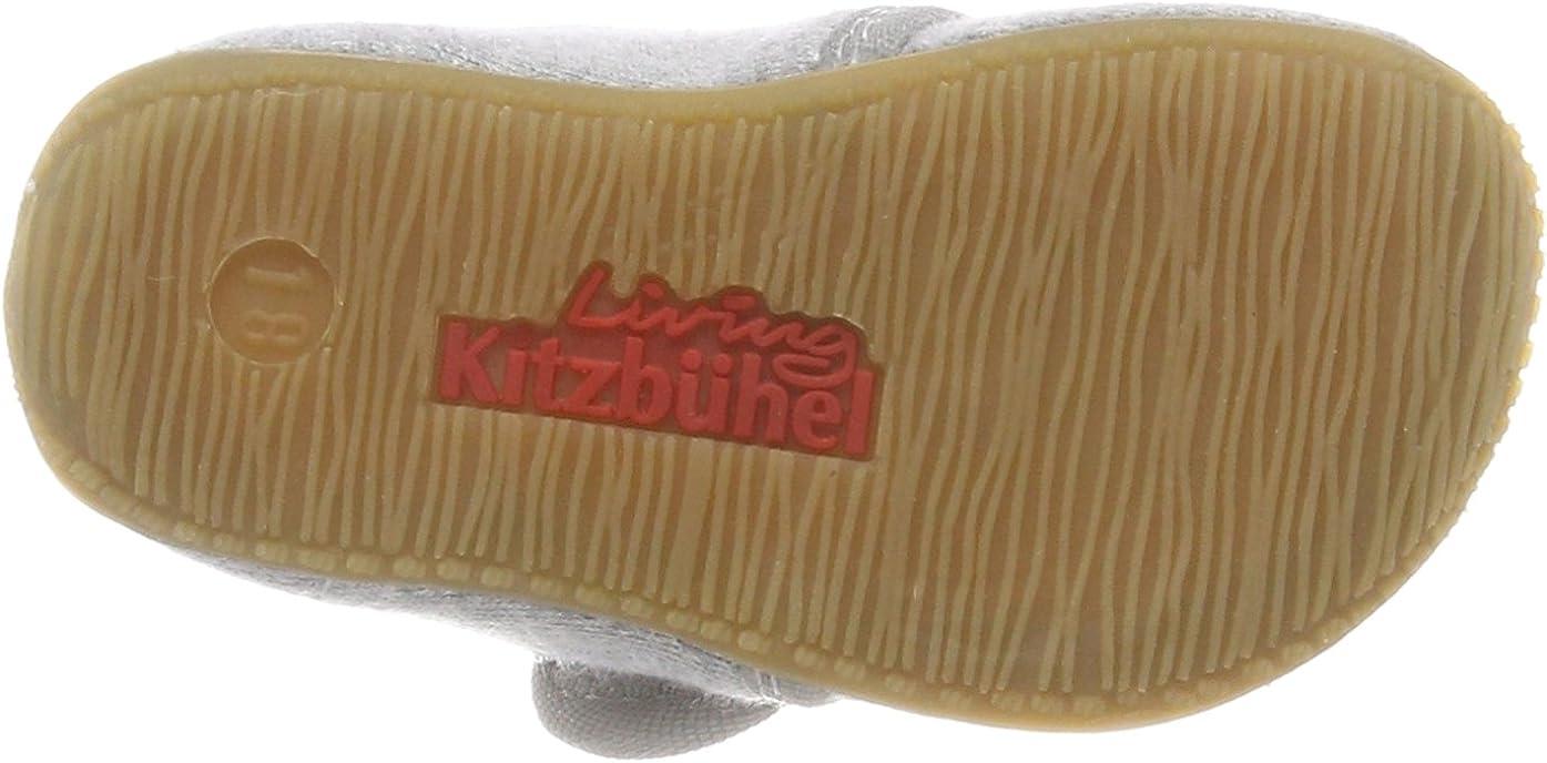 Zapatillas de Estar por casa Unisex Ni/ños Living Kitzb/ühel Baby Klett