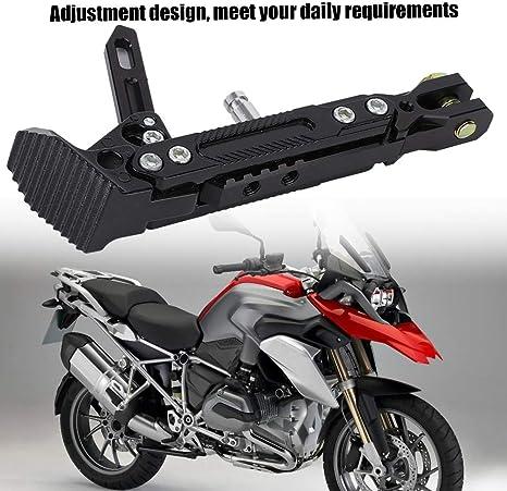 Akozon Motorrad Aluminiumlegierung Verstellbarer St/änder Fu/ß Seitenst/änder Stativhalter Gold