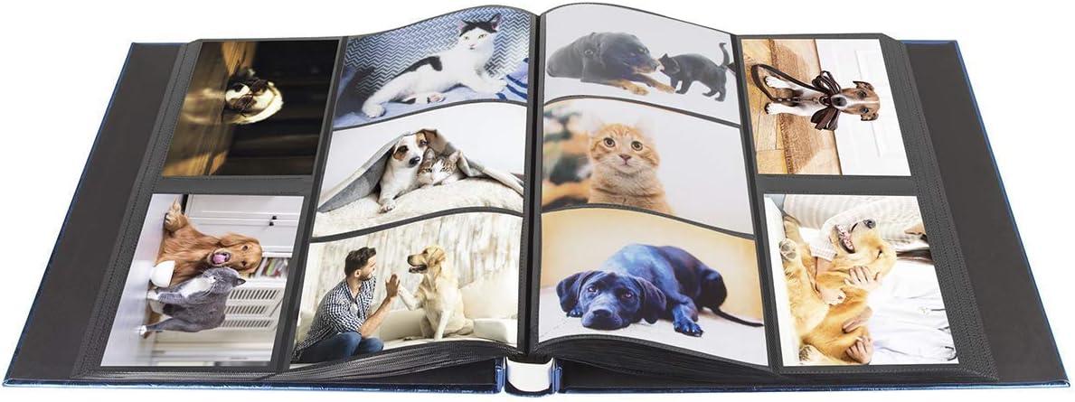 Benjia Album photo 500 pochettes 15 x 10 cm album photo extra large pouvant contenir 500 photos de 10 x 15 cm