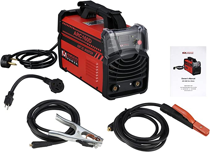 6. Amico Dual Voltage Stick Arc MMA Welding Machine