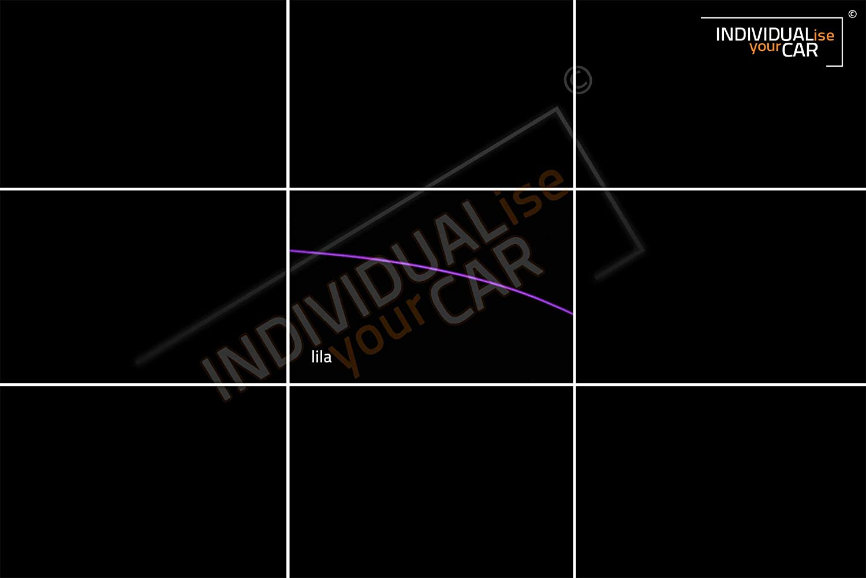 Armaturenbrett EL Ambiente Lichtleiste Set Ambientebeleuchtung f/ür 3er E90 E91 E92 E93 Cool-White