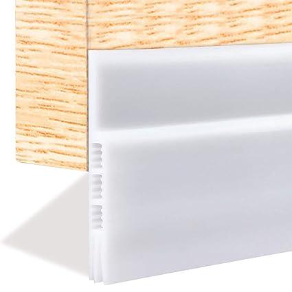 Weather Stripping For Doors, Draft Stopper Door Strip Guard Under Door  Draft Blocker Sound Proof