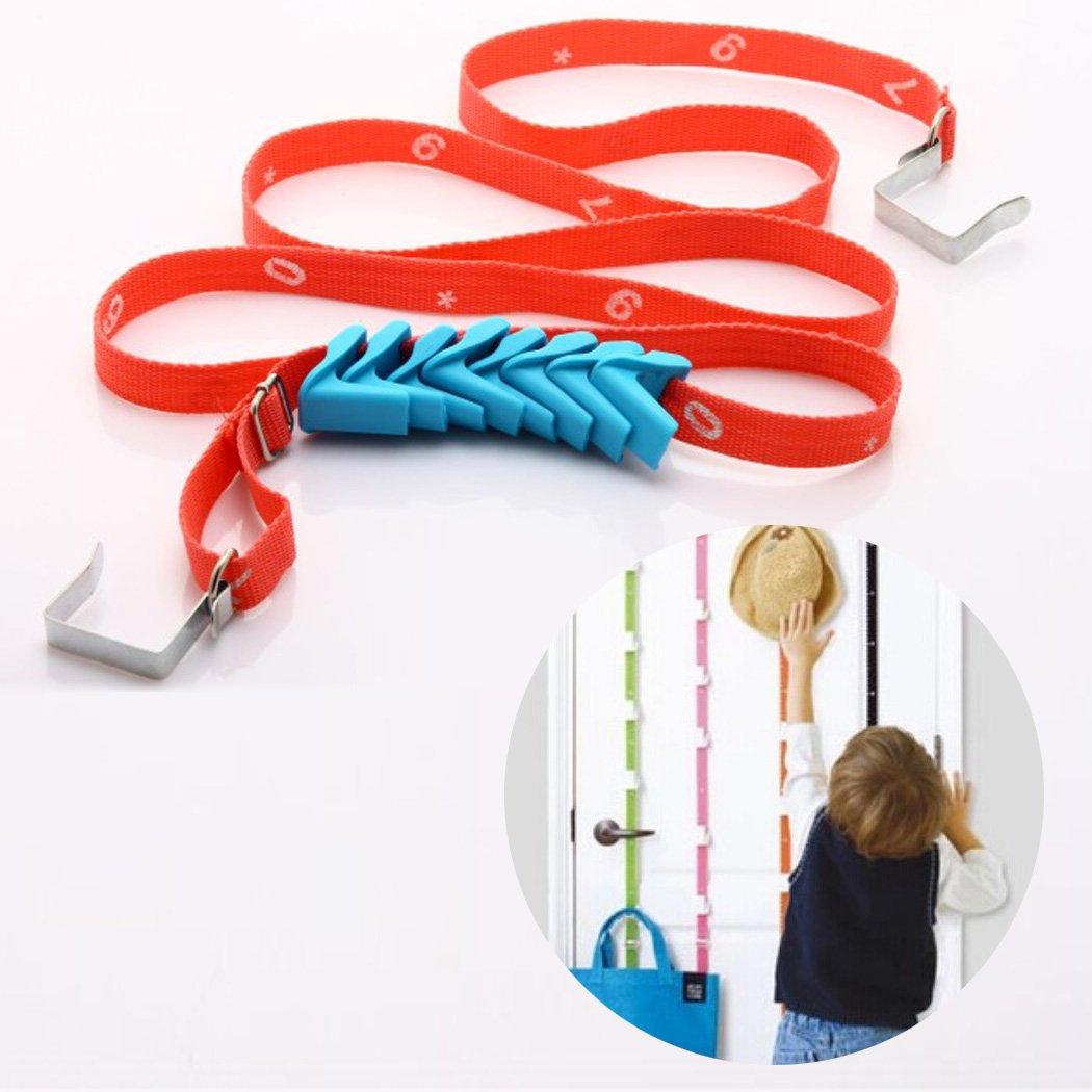boutique1583 Adjustable Door Hook Multi-function Lanyard Hook Hanger Door Back Storager Rope