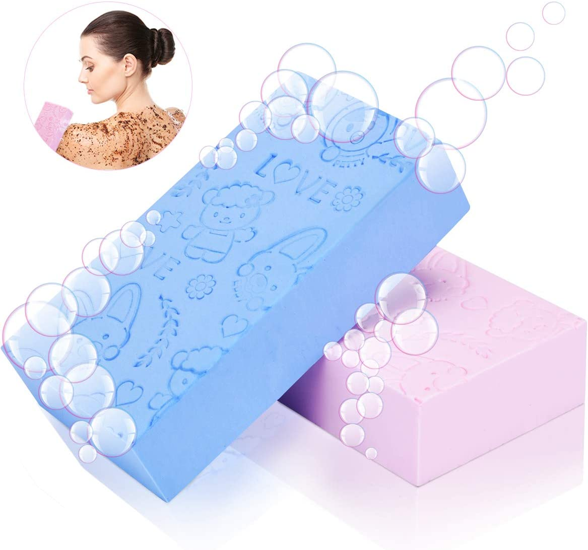 Fenjida Exfoliating Quick Drying Body Sponge