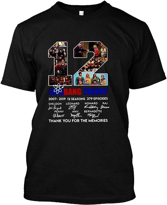 6ec03f14eca 12 Years The Big Bang Theory Thank You for The Memories Shirt Unisex T-Shirt