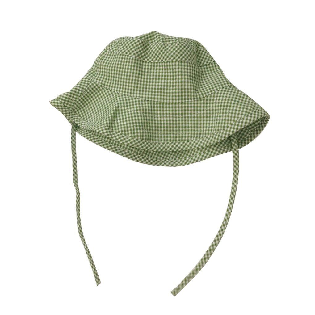Bobury Tela Escocesa Fresca Cuadros Cabrito del Sombrero del Cubo de ...