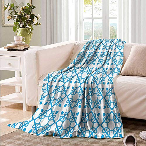 Oncegod Nap Blanket Irish Antique Royal Flourish Bedding Throw, or Blanket Sheet 84