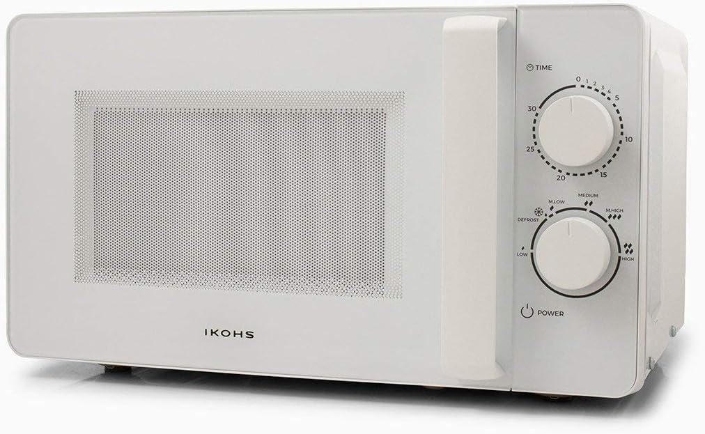 IKOHS Microondas MW700 - Microondas, 700W,Capacidad