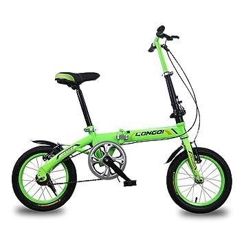 Xiaoping Bicicletas para niños Bicicleta para niños de 4 a 7 años de edad Bicicleta plegable